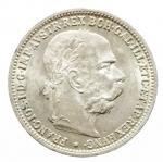 D/ Monete Estere. Austria. Francesco Giuseppe. 1 Corona 1893. qSPL.Patina
