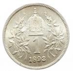 R/ Monete Estere. Austria. Francesco Giuseppe. 1 Corona 1893. qSPL.Patina