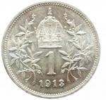 R/ Monete Estere.Austria. Francesco Giuseppe (1848-1816). Corona 1913. AG.qSPL