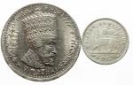 D/ Monete Estere.Etiopia Menelik.Lotto di 2 monete,mediamente BB