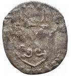 R/ Monete Estere - Francia. Avignone. Clemente VIII. Grosso Dozzeno 1599. gr 1,92. MB-qBB. Patina