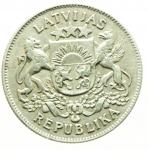 R/ Monete Estere.Lituania 1926.2 Lati.Ag.BB+