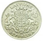R/ Monete Estere.Lituania 1924.1 Lati.Ag.BB+