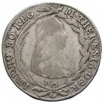 D/ Monete Estere - HUNGARY. 20 Kreuzer 1776 B SK PD Kremnica Maria Theresia. qBB