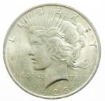 obverse: Monete Estere. USA. 1928. Dollaro. BB.
