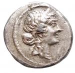 D/ Medaglie - Medaglia a riprodurre denario di Giulio Cesare. gr 2,81