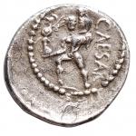R/ Medaglie - Medaglia a riprodurre denario di Giulio Cesare. gr 2,81