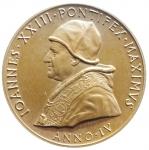 D/ Medaglie. Vaticano. Giovanni XXIII. 1961. Ae. MATER MAGISTRA. FDC.