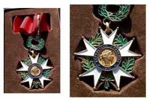 D/ Medaglie -Médaille HONNEUR ET PATRIE RÉPUBLIQUE FRANÇAISE 1870