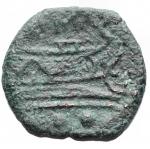 R/ Varie - Repubblica Romana. Sestante da catalogare. Ae. g 1,65. mm 16