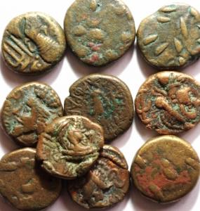 D/ Lotti.Antico Oriente.Lotto di 10 monete da classificare, mediamente BB.w