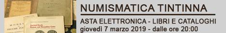 Banner Tintinna Asta Cataloghi & Libri