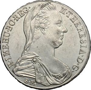 obverse: Austria.  Maria Theresa (1740-1780). Thaler 1780