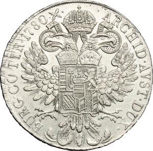 reverse: Austria.  Maria Theresa (1740-1780). Thaler 1780
