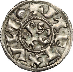 Reverse image of coin 1054