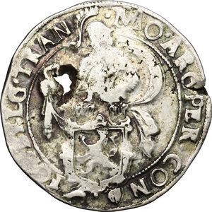obverse: Netherlands. Lion Daalder 1633, Overyssel
