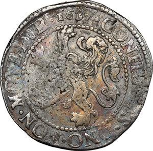 reverse: Netherlands. Lion Daalder. Zeeland, 1637