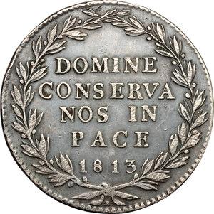 reverse: Switzerland. 40 batz 1813 B, Zurich