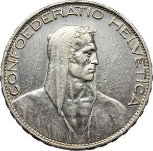 obverse: Switzerland. 5 francs 1926, Berne