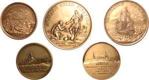 France. Lot of 5 medals,  XX cent. (1967-1971 ca.)