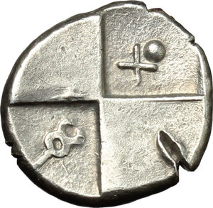 Reverse image of coin 128