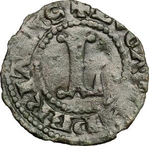 D/ Lucca. Signoria della Repubblica di Pisa (1342-1369). Aquilino piccolo.    MIR 138. MI. g. 0.45  mm. 15.50  NC.  BB.