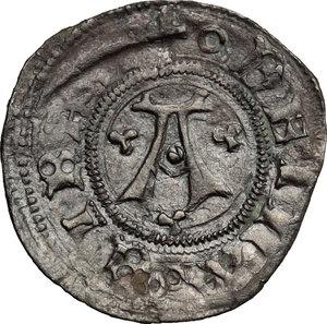 D/ Macerata. Autonome (1404-1447). Bolognino.    B. 1095. AG. g. 0.66  mm. 19.50    BB.
