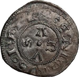 R/ Macerata. Autonome (1404-1447). Bolognino.    B. 1095. AG. g. 0.66  mm. 19.50    BB.