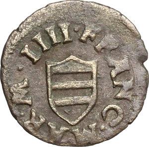 D/ Mantova. Francesco II (1484-1519). Sesino. CNI 119/138. MIR 430. MI. g. 0.69  mm. 15.00 R. BB-qBB.