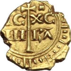 R/ Messina. Federico II (1197-1250). Multiplo di tarì.    Sp. 59. MIR 65. AU. g. 1.94  mm. 12.00  R.  SPL.