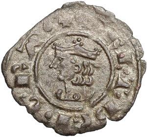 D/ Messina. Federico III d'Aragona (1296-1337). Denaro.    Sp. 34/50. MIR 185. AE. g. 0.66  mm. 16.00    Bel BB.
