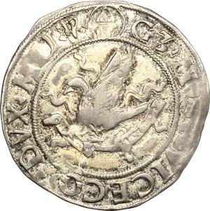 D/ Milano. Galeazzo Maria Sforza (1468-1476). Grosso da 4 soldi.    Cr. 13. MIR 207. AG. g. 2.77  mm. 22.50  R.  qBB-BB.