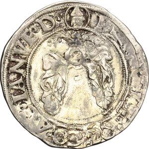 R/ Milano. Galeazzo Maria Sforza (1468-1476). Grosso da 4 soldi.    Cr. 13. MIR 207. AG. g. 2.77  mm. 22.50  R.  qBB-BB.