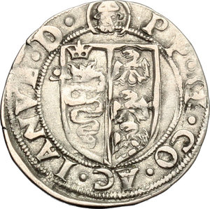 D/ Milano. Galeazzo Maria Sforza (1468-1476). Soldo.    Cr. 14/B  MIR 208/2. AG. g. 1.24  mm. 20.00    Bel BB.