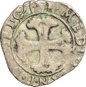R/ Milano. Ludovico XII (1500-1513). Soldo.    Cr. 12. MIR 245. AG. g. 0.84  mm. 19.00  NC.  BB/MB.