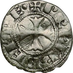 D/ Montefiascone. Giovanni XXII (1316-1334). Denaro paparino.    M. 4/5. Berm. 173. MI. g. 0.66  mm. 16.00  R.  BB.