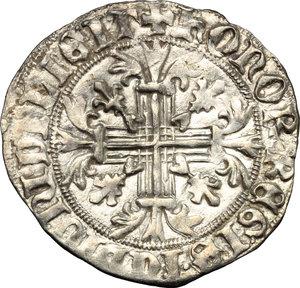 R/ Napoli. Roberto d'Angiò (1309-1343). Gigliato.    P/R 2. MIR 28. AG. g. 3.95     SPL+.
