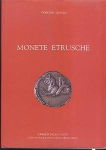obverse: Catalli Fiorenzo. Monete Etrusche. Roma, 1990. Ril. editoriale, pp. 149, tavv. 35, tavv. 12 a colori