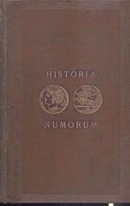 obverse: Head Barclay V. Historia Nummorum. A manual of Greek Coins.Oxford, 1887. Ril. editoriale, taglio dorato, pp. lxxix + 807, tavv. 5, + ill. nel testo