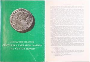 obverse: Jelocnik, Aleksander. The Centur Hoard: Folles of Maxentius and of the Tetrarchy. Ljubljana 1973. Brossura, pp. 224, tavv. 23
