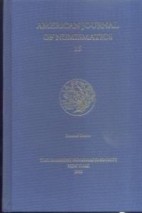 obverse: American Journal of Numismatics 15. New York, 2003. Pag. 156, tavv. 11. Ril. ed.