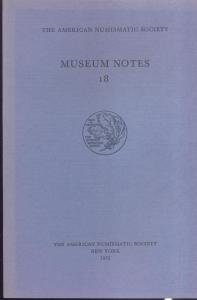 D/ Museum Notes 18. New York, 1972. Pp. 175, tavv. 32. Ril. ed.