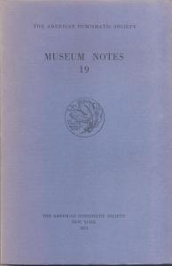 D/ Museum Notes 19. New York, 1974. Pp. 294, tavv. 31. Ril. ed.