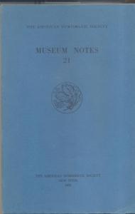 D/ Museum Notes 21. New York, 1976. Pp. 301, tavv. 18. Ril. ed.