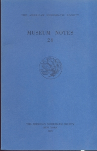 D/ Museum Notes 24. New York, 1979. Pp. 282, tavv. 51. Ril. ed.