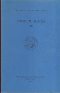 D/ Museum Notes 26. New York, 1980. Pp. 232, tavv. 23. Ril. ed.