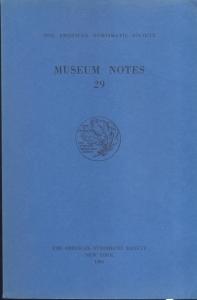 D/ Museum Notes 29. New York, 1984. Pp. 201, tavv. 35. Ril. ed.