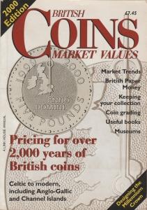 obverse: AA.VV. British Coins Market Values 2000 edition. Brossura, pp. 162, illustrato (NON SI ACCETTANO RESI)