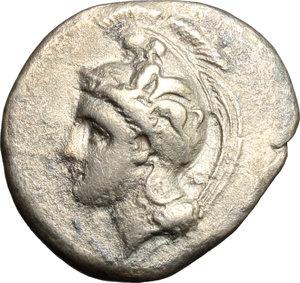 Northern Lucania, Velia. AR Didrachm, 334-300 BC