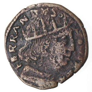 obverse: L Aquila. Ferdinando I d Aragona. 1458-1494. Cavallo. Ae.
